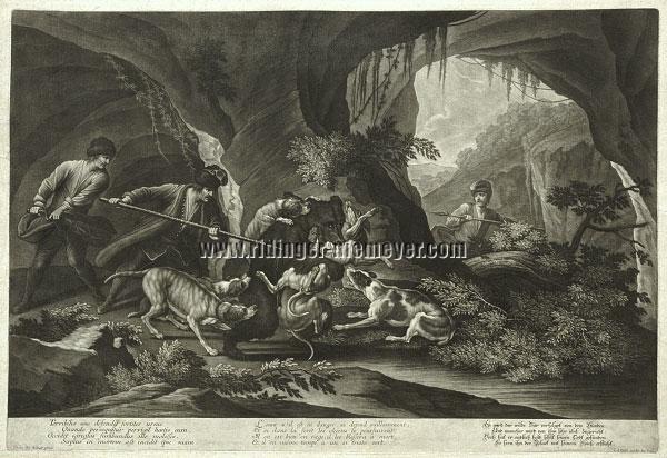 Johann Elias Ridinger, Der wilde Bär