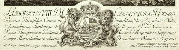 Georg Adam Eger, Ludwig VIII. von Hessem-Darmstadt (Untertext)
