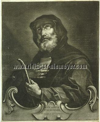 Johann Elias Ridinger, S. Franc. de Pavla