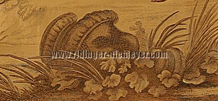 Johann Elias Ridinger, Zerbrochene Vase