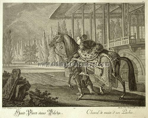Johann Elias Ridinger, Personal Horse of a Pasha