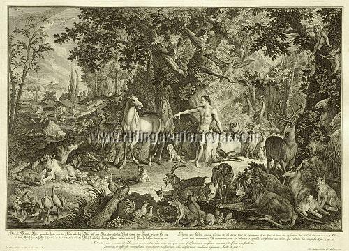 Johann Elias Ridinger, Paradise