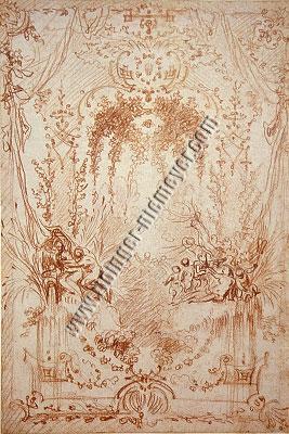 Antoine Watteau, Laube
