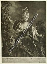 Johann Elias Ridinger, Die Cythera-Dame