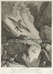 Johann Elias Ridinger, Die durch erdichteten Vorwand unterdrückte Unschuld