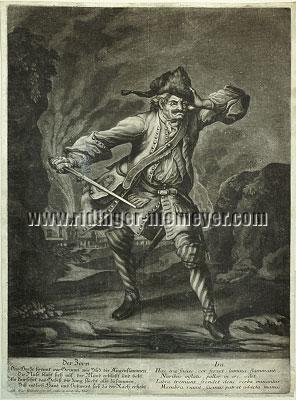 Johann Elias Ridinger, Der Zorn