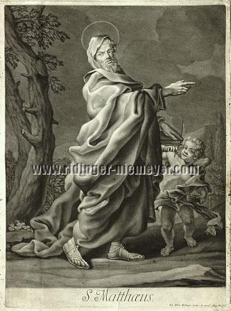 Johann Elias Ridinger, S. Matthew