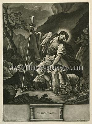 Johann Elias Ridinger, Pastor bonus