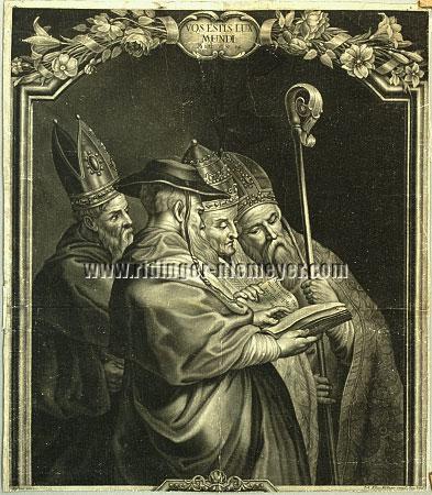 Johann Elias Ridinger, Vos estis Lux / Autonom nach Rubens
