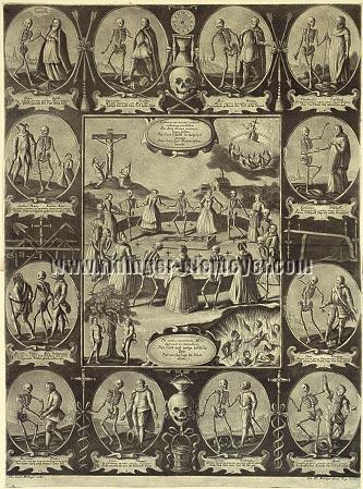 Johann Elias Ridinger, Dance Macabre