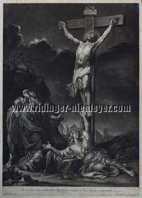 Johann Elias Ridinger, In manus tuas commendo spiritum meum