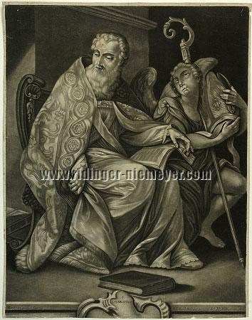 Johann Elias Ridinger, S. Ambrosius
