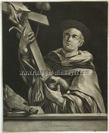 Johann Elias Ridinger, St. Bernhard