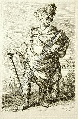 Johann Elias Ridinger, Ancient Warrior