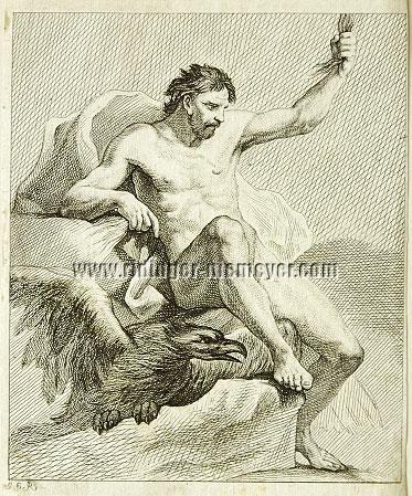 Johann Elias Ridinger, Zeus