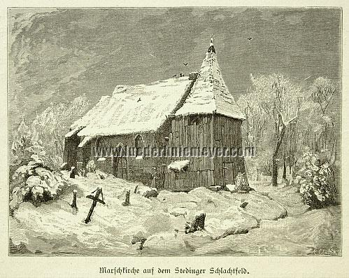 Ferdinand Lindner, Marsh Church on the Stedingen Battlefield
