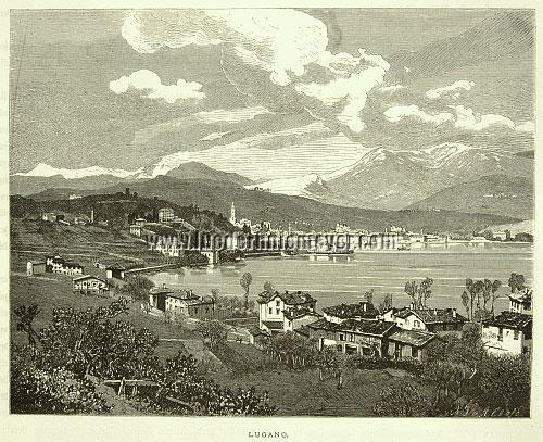 Ludwig Dill, Lugano