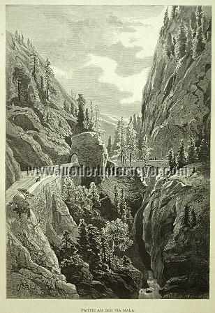Themistokles von Eckenbrecher, Via Mala