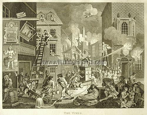 William Hogarth, The Times