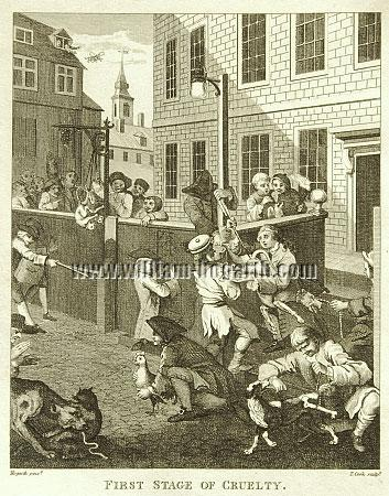 William Hogarth, First Stage of Cruelty (Cook small)