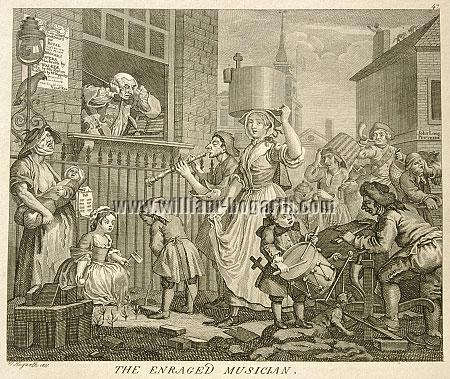 William Hogarth, Enraged Musician (Riepenhausen)