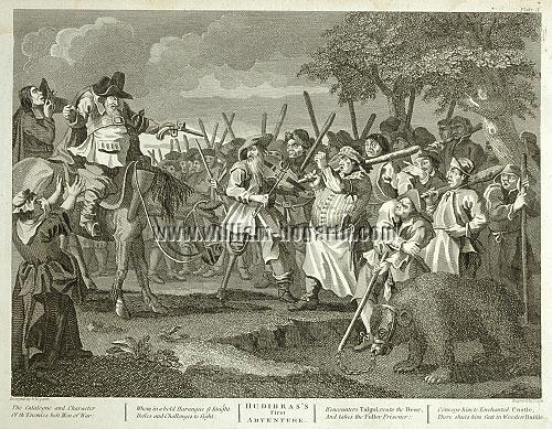 William Hogarth, Hudibras's First Adventure (Cook)