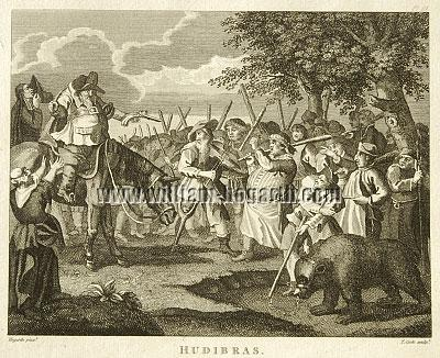 William Hogarth, Hudibras' First Adventure (Cook small)