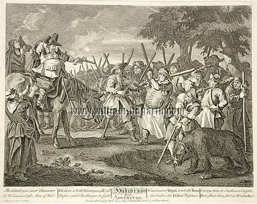 William Hogarth, Hudibras' First Adventure
