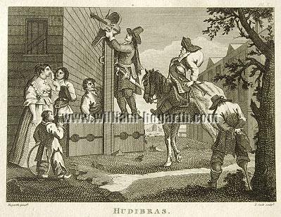 William Hogarth, Hudibras, Triumphant (Cook small)