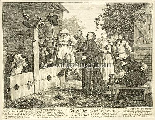 William Hogarth, Hudibras, in Tribulation