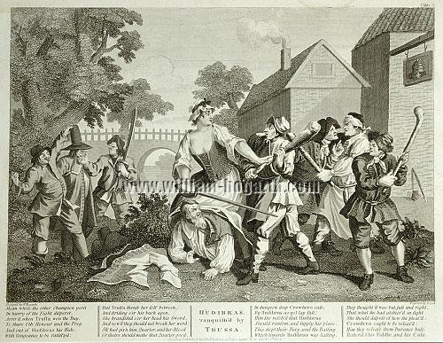 William Hogarth, Hudibras vanquished by Trulla (Cook)