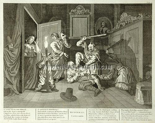 William Hogarth, Hudibras catechized (Cook)