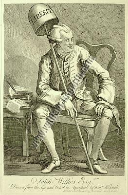 William Hogarth, John Wilkes
