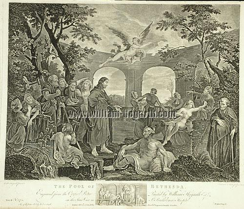 William Hogarth, Pool of Bethesda