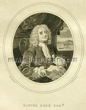 William Hogarth, Daniel Lock Esqr.