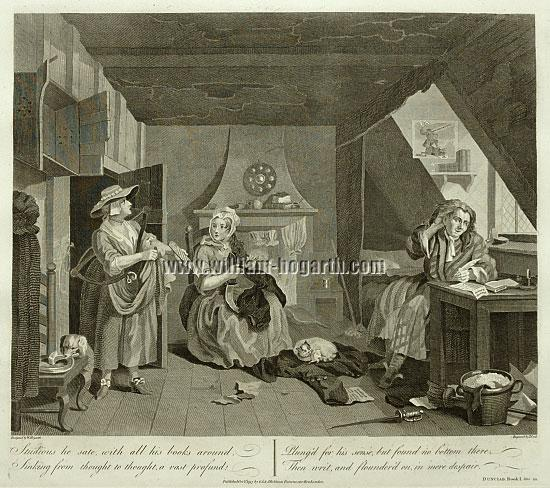William Hogarth, Dichter in der Not (Cook)