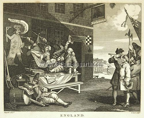 William Hogarth, England