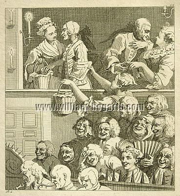William Hogarth, Laughing Audience (Rahl)