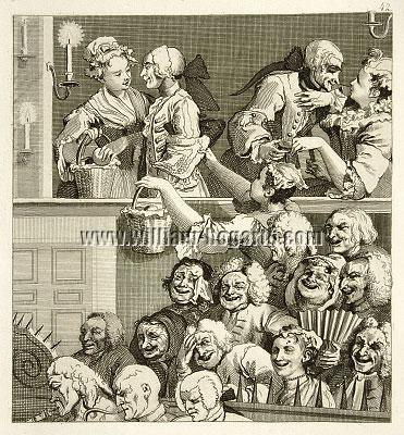 William Hogarth, Laughing Audience (Riepenhausen)