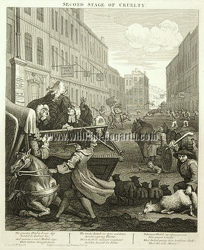 William Hogarth, Cruelty II