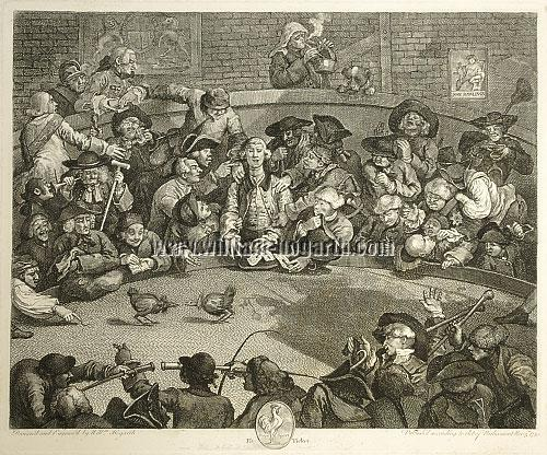 William Hogarth, Pit Ticket