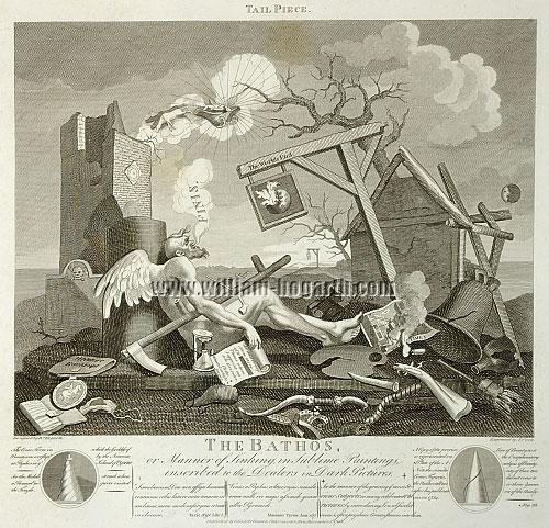 William Hogarth, Tail Piece or The Bathos (Cook)