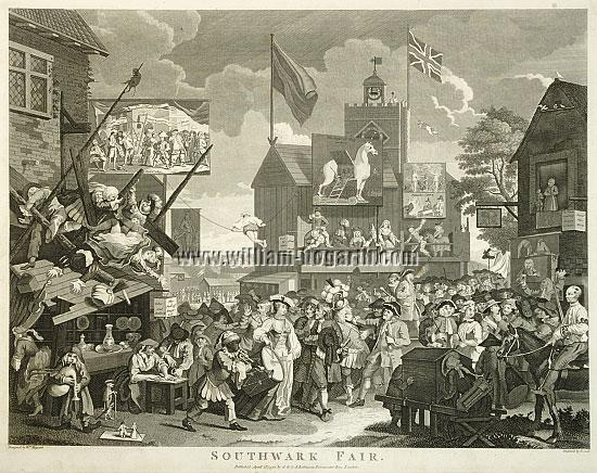 William Hogarth, Southwark Fair