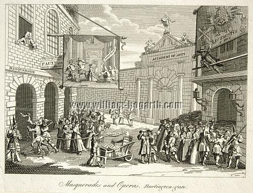 William Hogarth, Masquerades and Operas (Cook)
