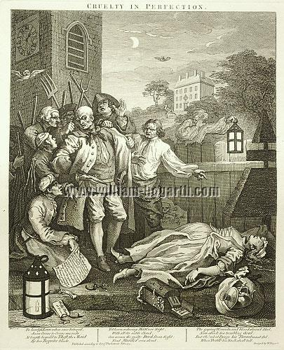 William Hogarth, Murder in the Churchyard