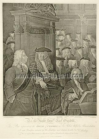 William Hogarth, House of Commons