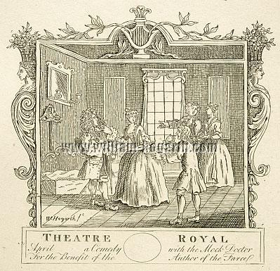 William Hogarth, Theatre Royal / The Mock Doctor