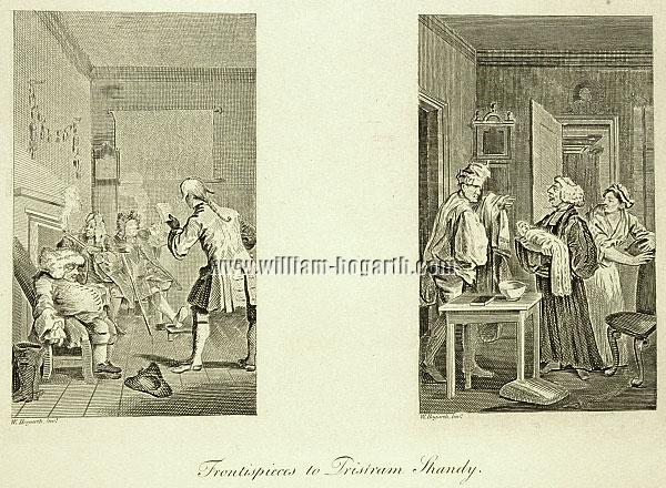 William Hogarth, Frontispieces to Tristram Shandy
