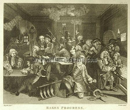 William Hogarth, Scene in a Gaming House