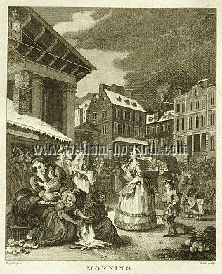 William Hogarth, Morning